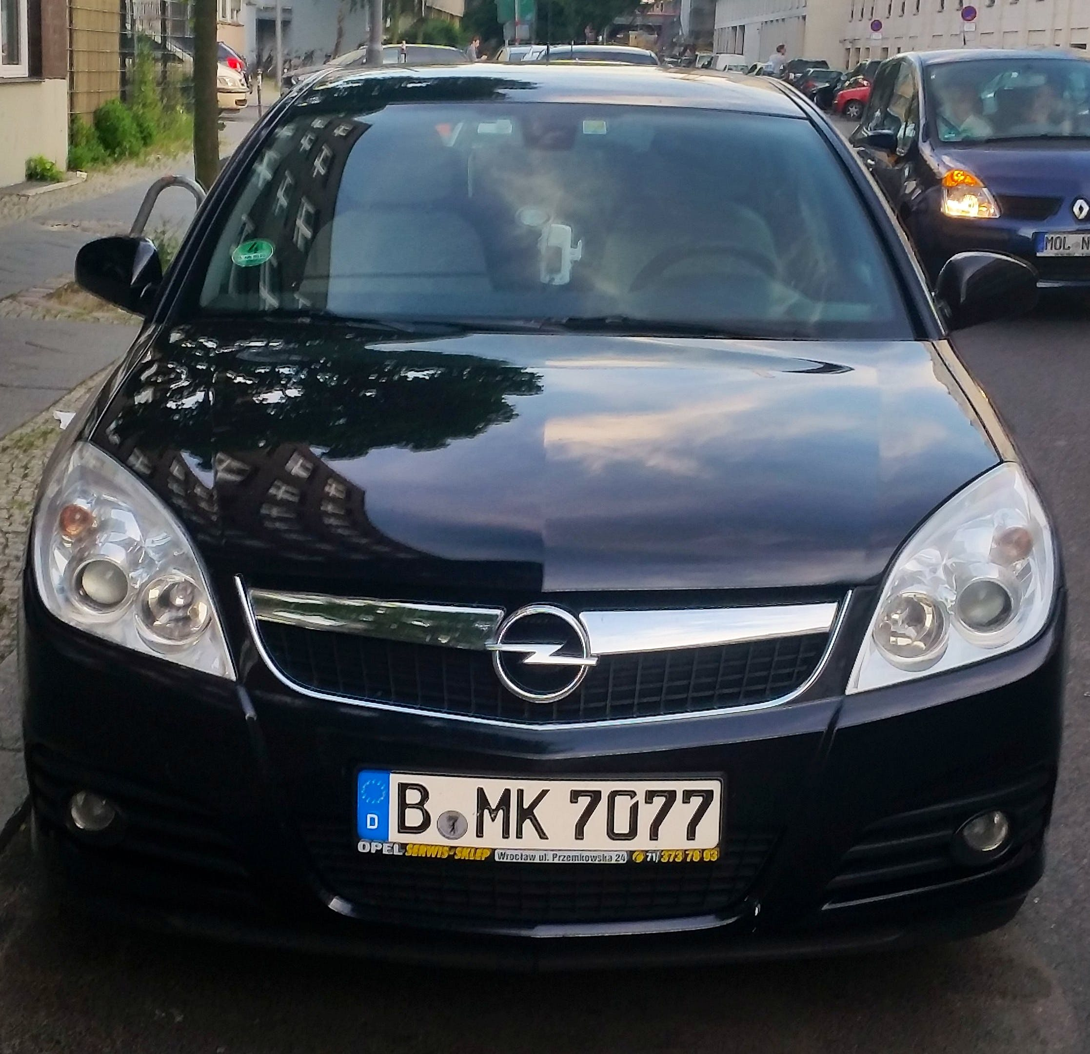 Opel Vectra mit CD-Player