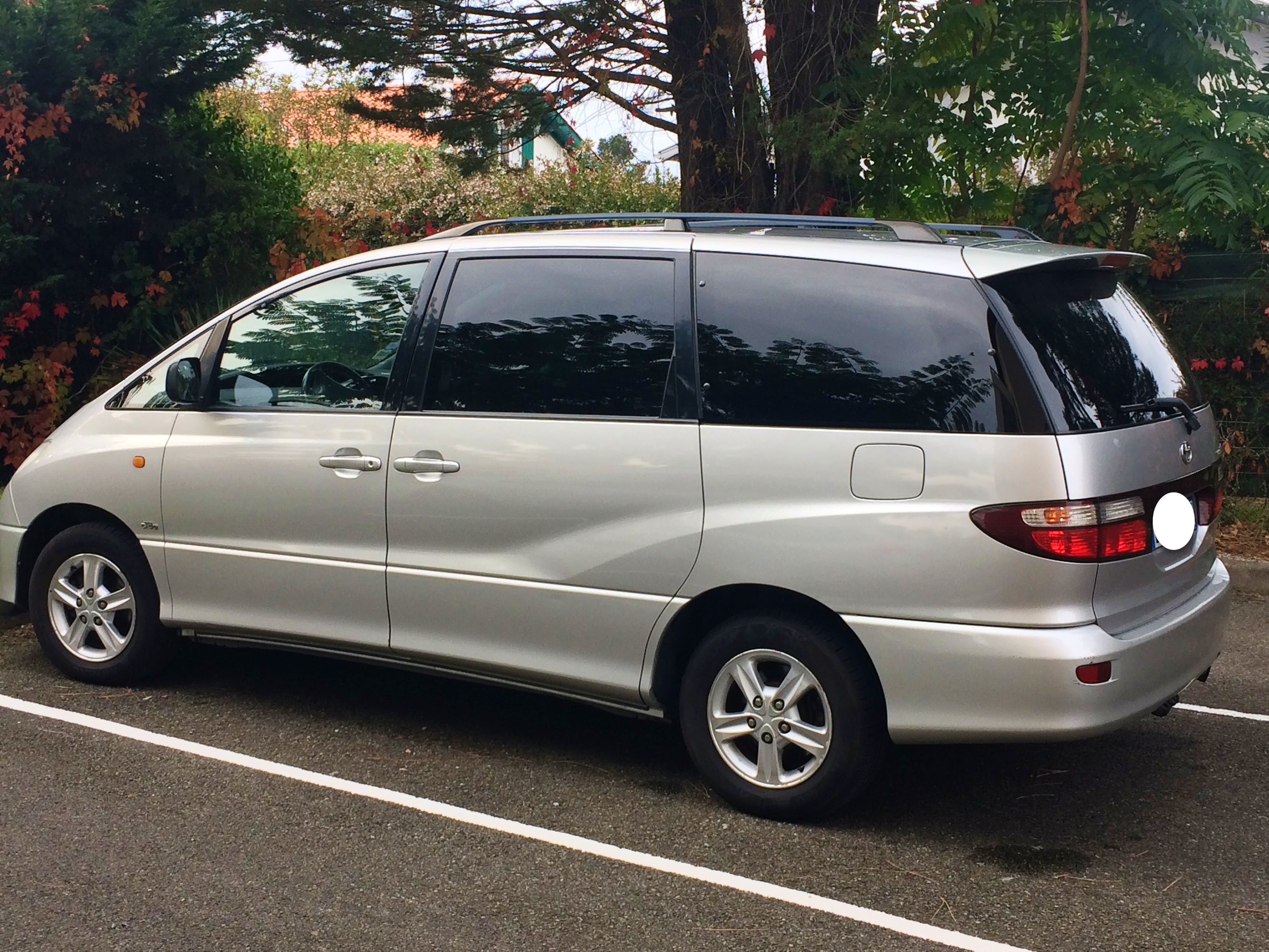 Toyota previa grand monospace 7 places, 2003, Diesel, 7 places