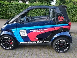 smart fortwo cabriolet 2003 automatik in pforzheim h gelstra e 13 mieten. Black Bedroom Furniture Sets. Home Design Ideas