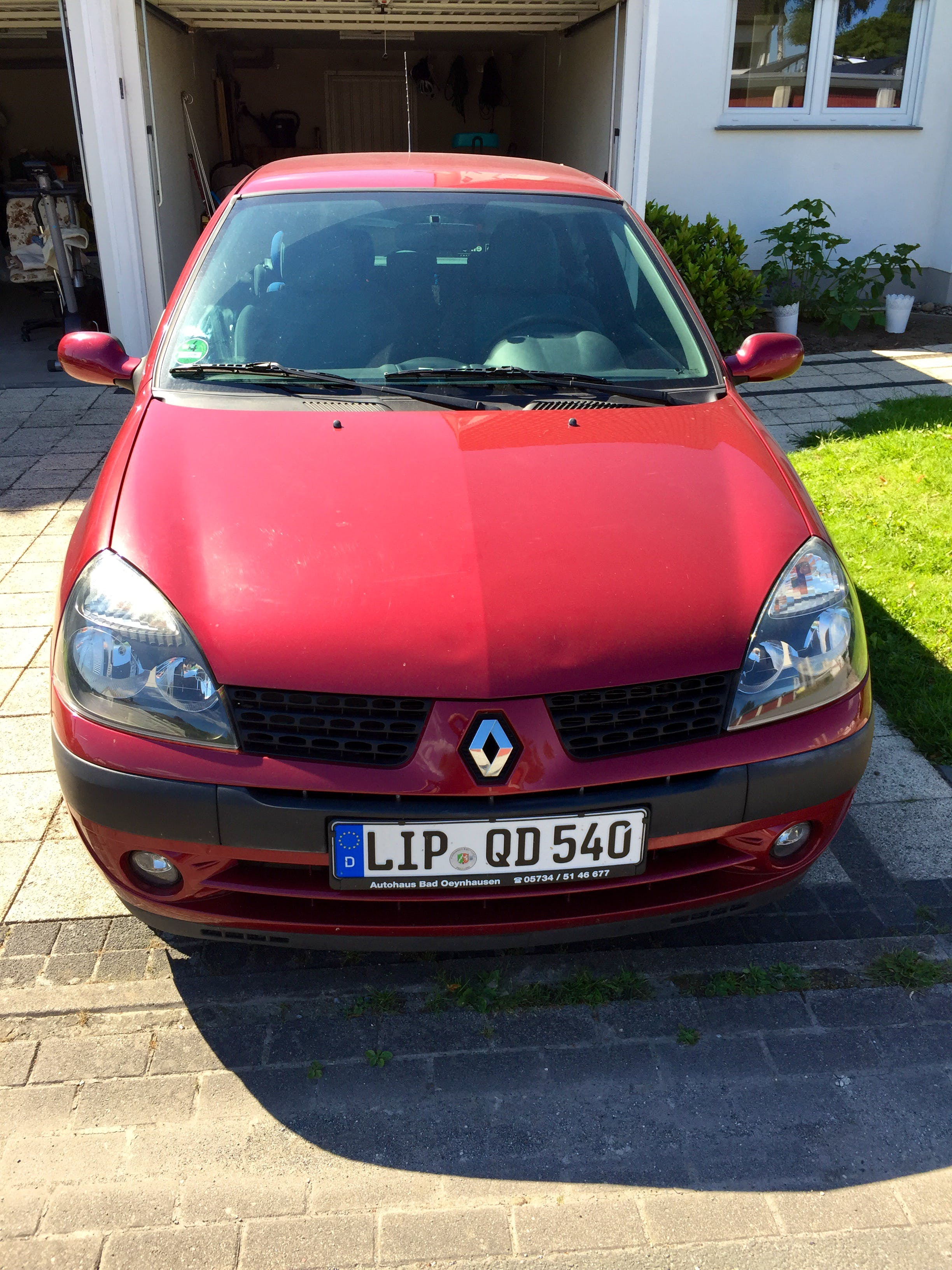 Renault Clio mit CD-Player