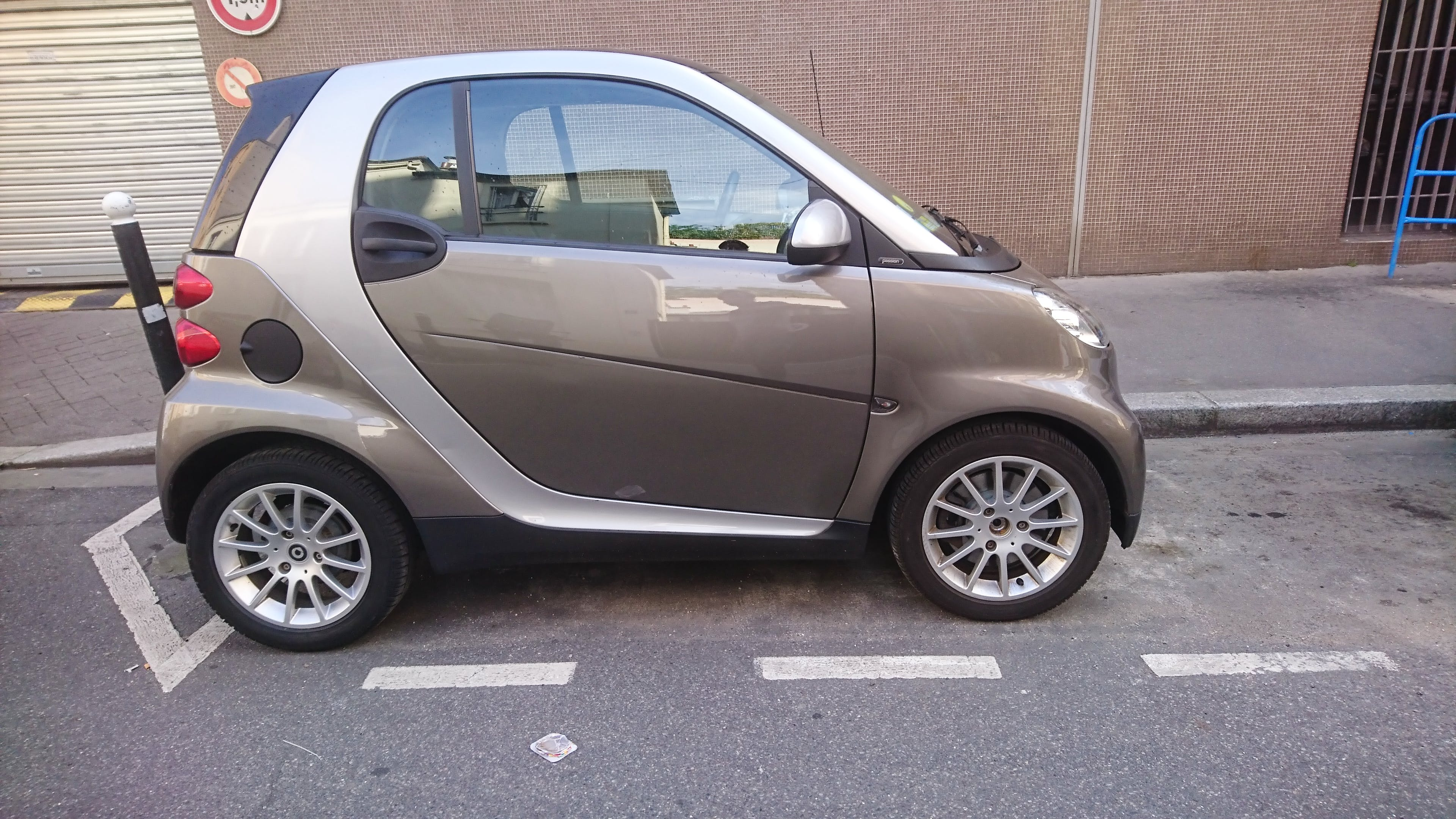 Smart Fortwo Coupé Passion Softouch (Clim, Cuir, Boite Auto,...) BEAUGRENELLE #ah