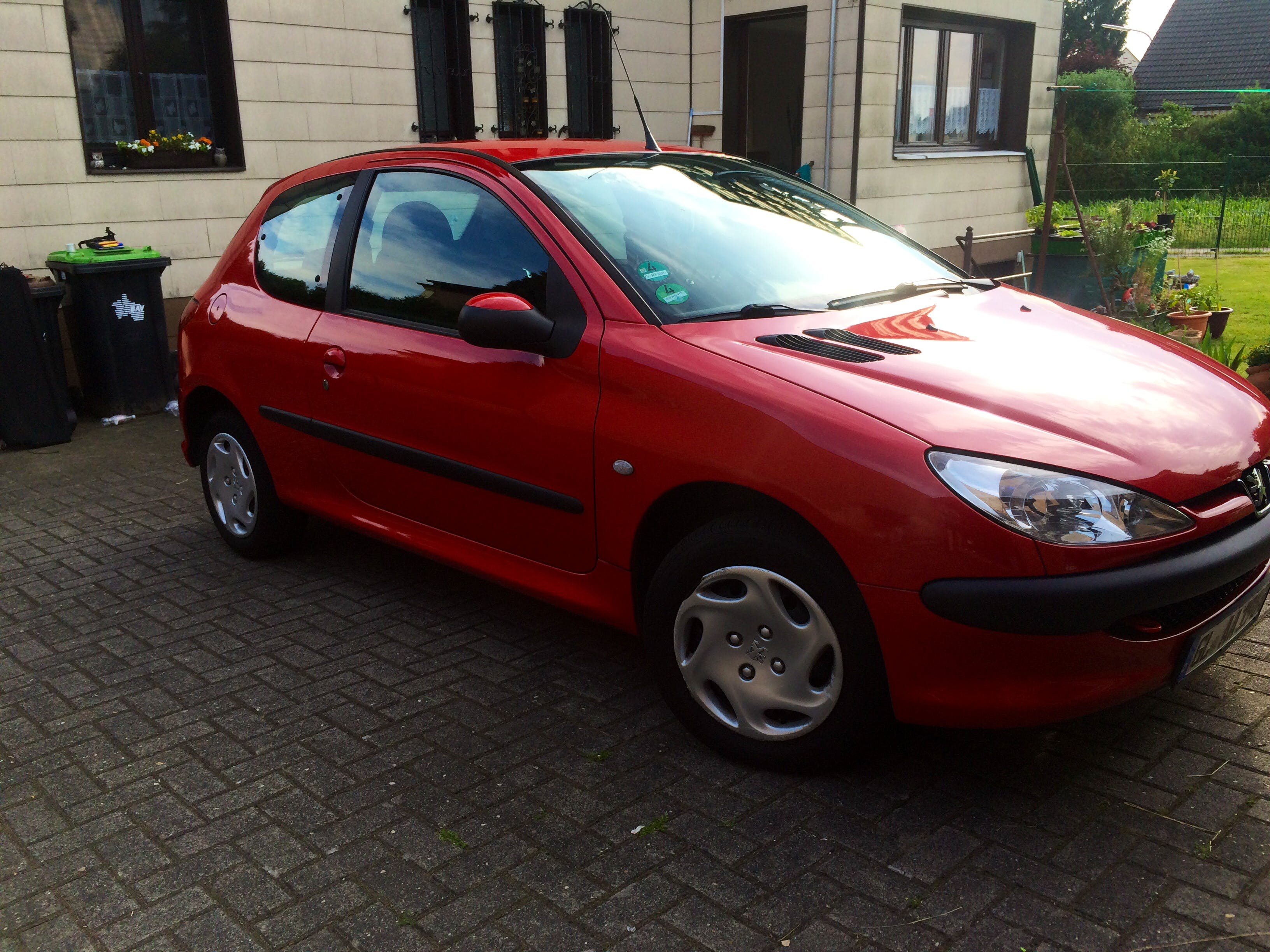Peugeot 206 mit CD-Player