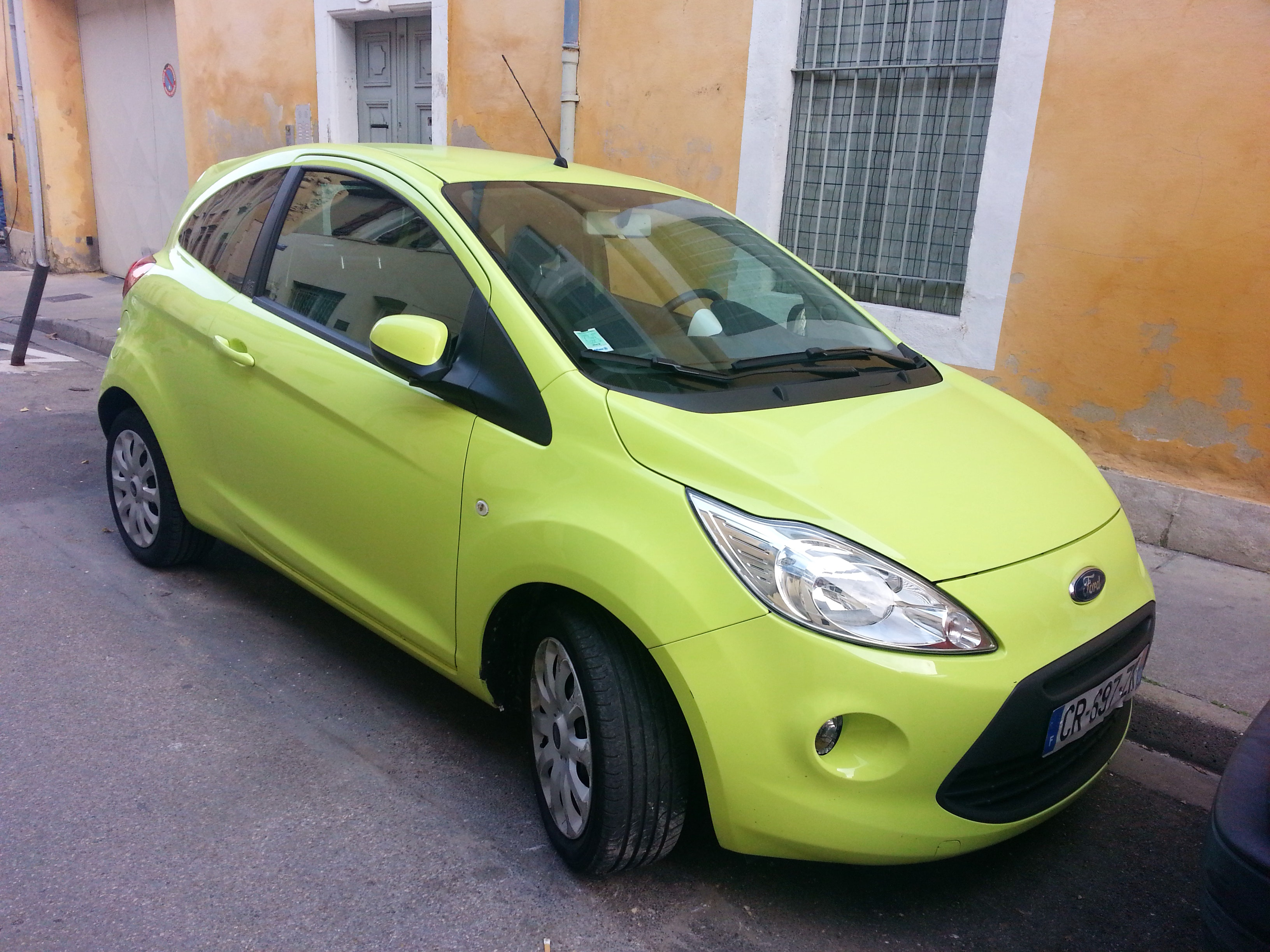 Ford KA Titanium, 2013, Essence