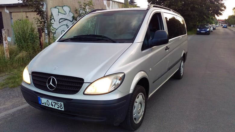 transporter mercedes vito 2005 diesel in leipzig zerbster str 23 mieten. Black Bedroom Furniture Sets. Home Design Ideas