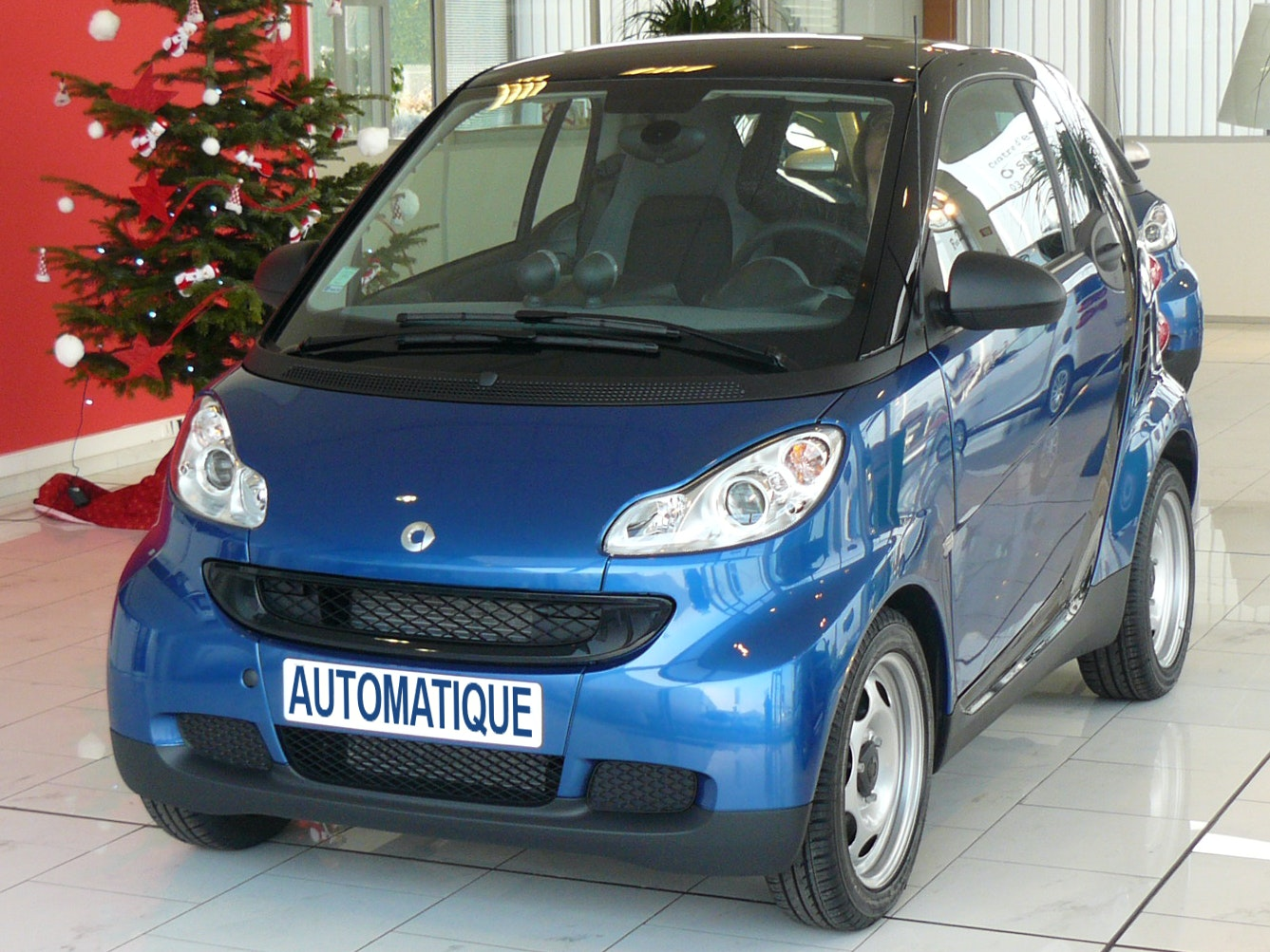 smart Fortwo, 2007, Essence, automatique