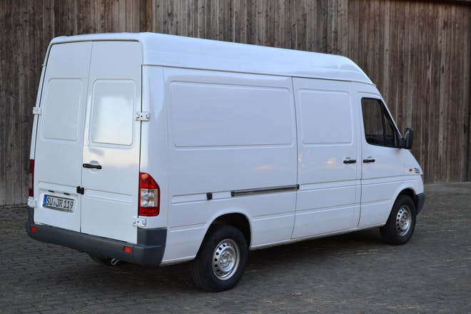 transporter mercedes sprinter 2001 diesel in k ln neusser str 606 mieten. Black Bedroom Furniture Sets. Home Design Ideas