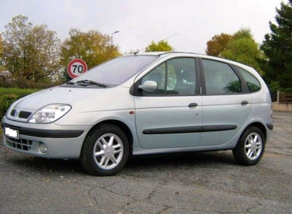 Renault  Scenic 1 phase 2 confort 1.9 dci 100 cv, 2001, Diesel