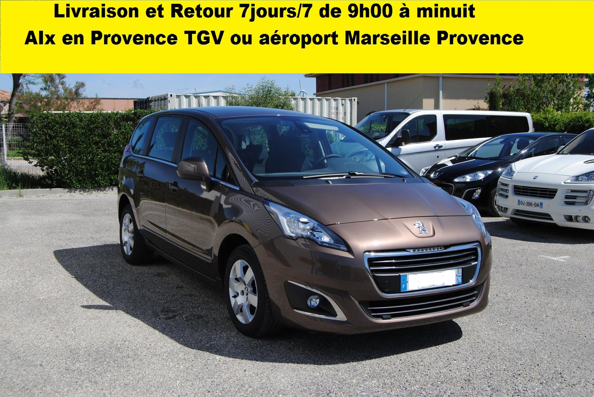 PEUGEOT 5008 Active Diesel Automatique, 2014, Diesel, automatique, 7 places