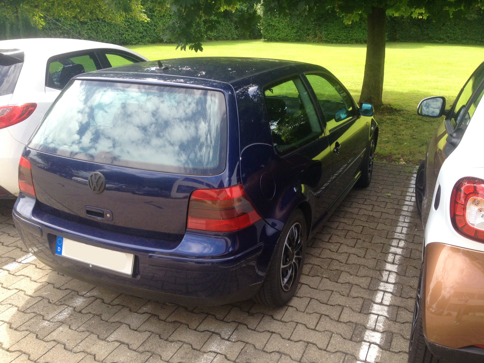 VW Golf 4 mit CD-Player