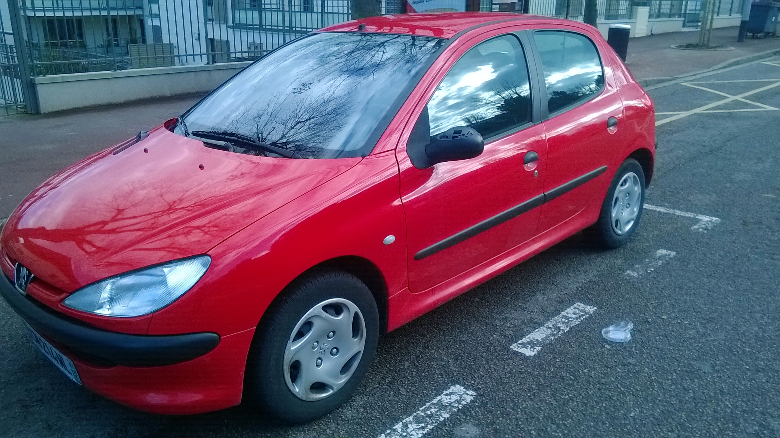 Peugeot 206 1.4 automatique , 2001, Essence, automatique