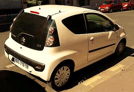Citroën c1 pack clim 2 places, 2008, Essence