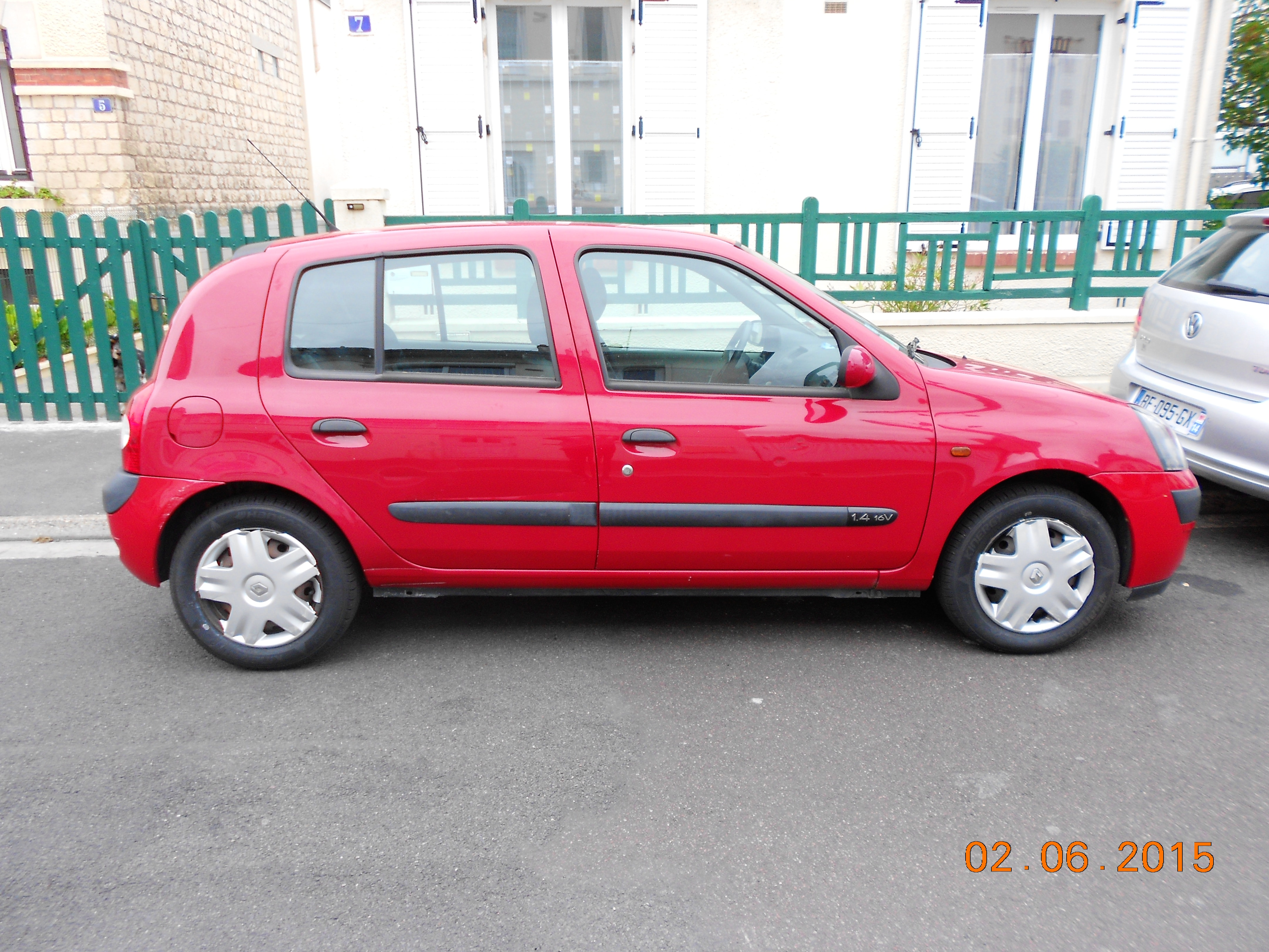 Renault clio phase II, 2002, Essence, automatique
