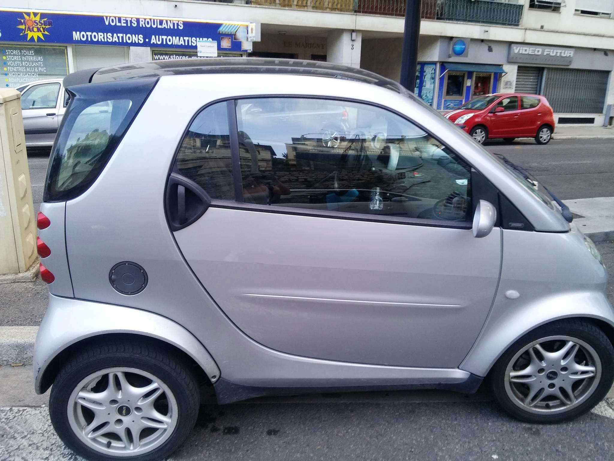Smart Fortwo Smartpure Toit panoramique, 2001, Essence, automatique