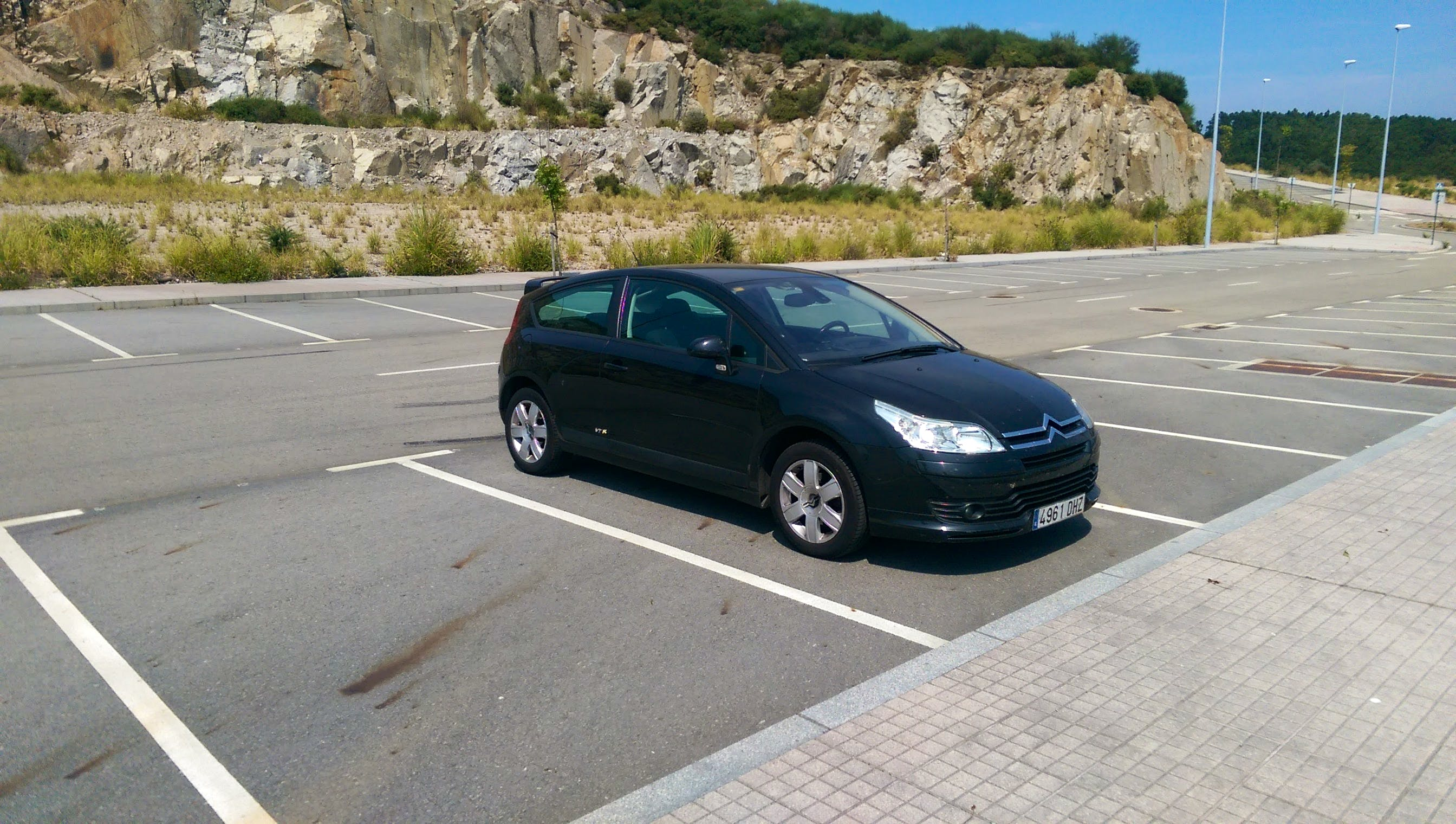 Citroen C4 Coupé VTR Plus 110 CV, 2005, Diésel
