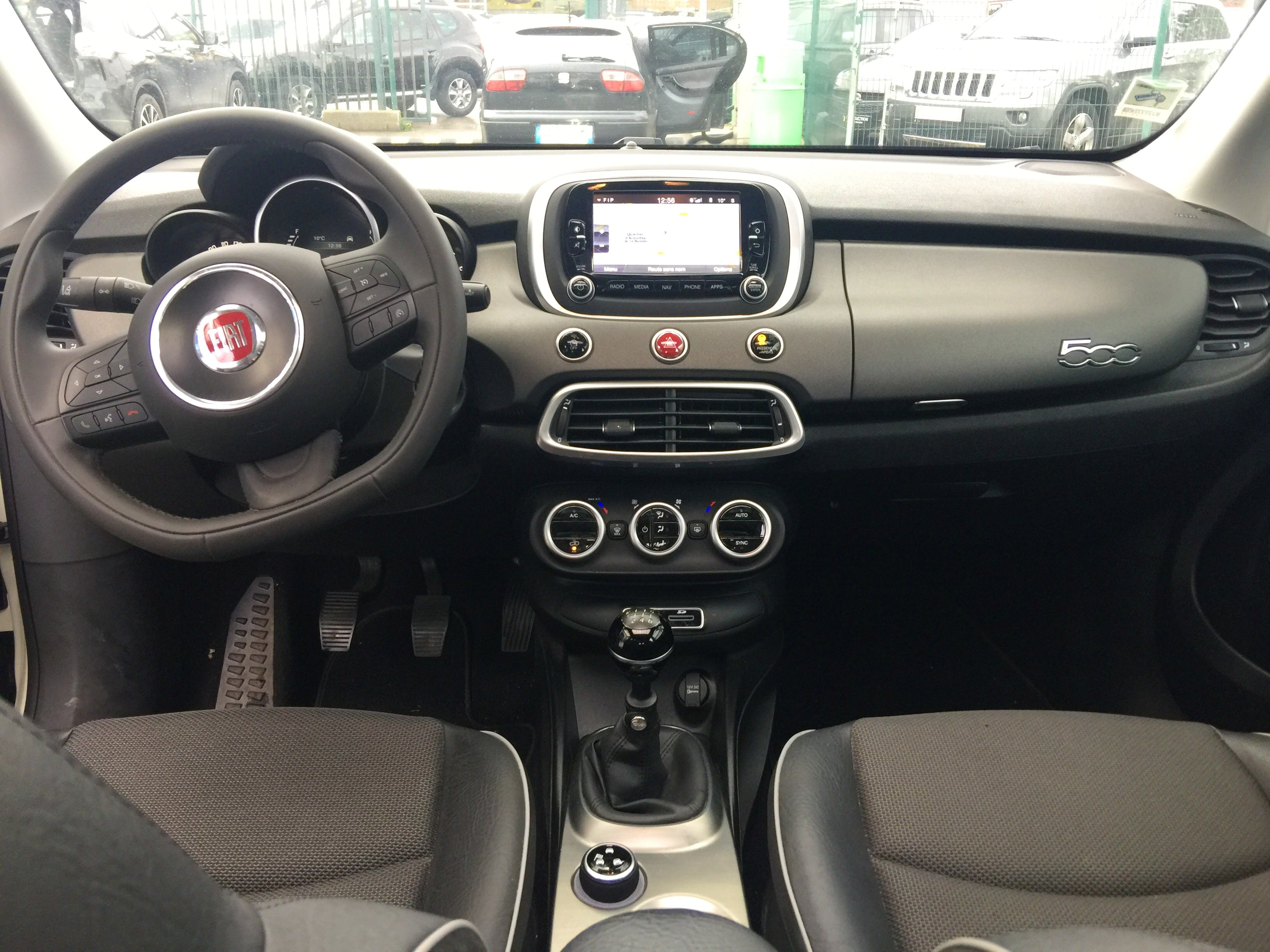 Fiat 500 X Cross Cross Plus 1.4 Multiair 140ch avec Entrée audio / iPod