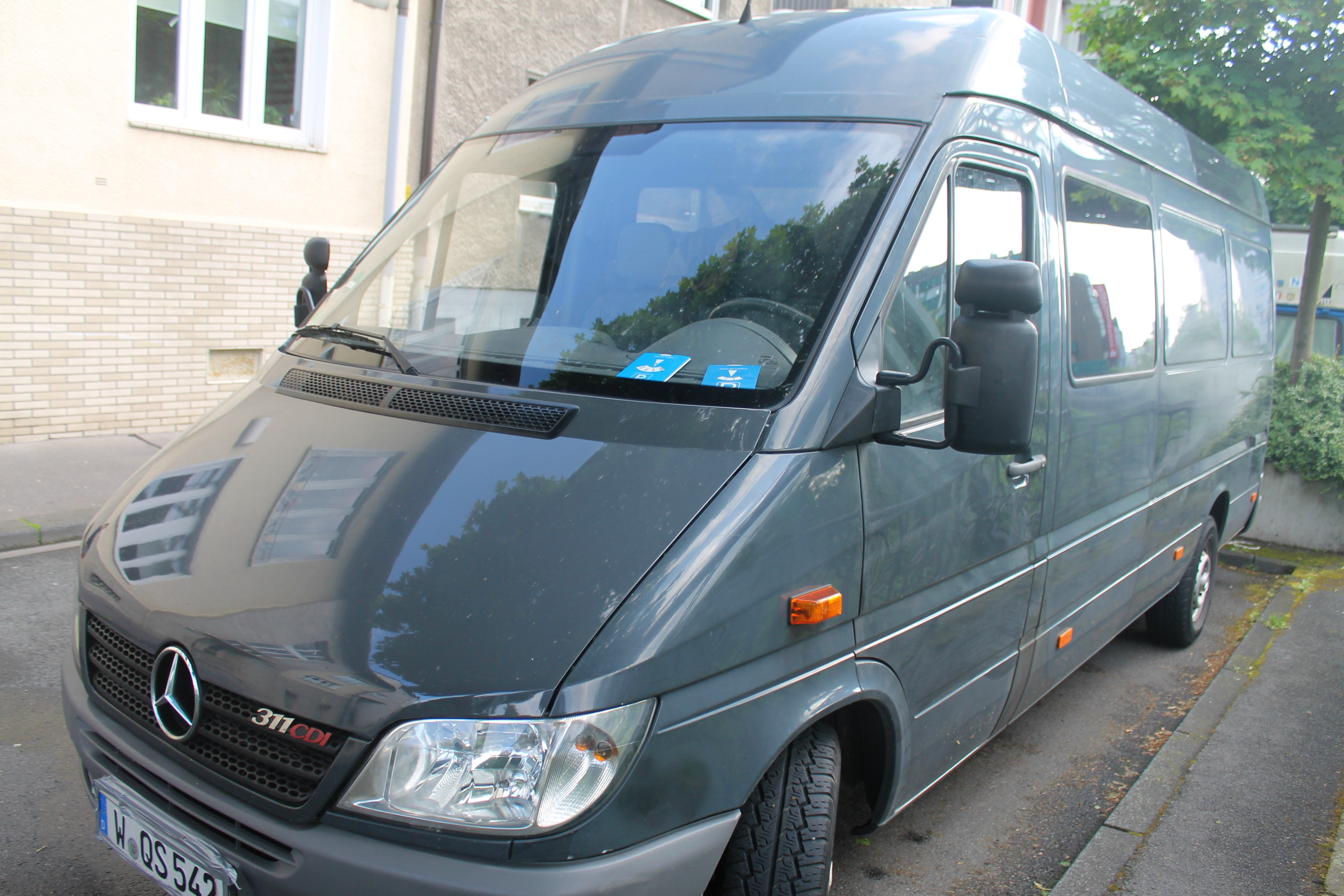Mercedes 311 cdi Sprinter extra Lang extra Hoch mit CD-Player