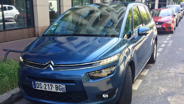 Citroen C4 Grand Picasso 1,6hdi, 2015, Diesel, automatique, 7 places