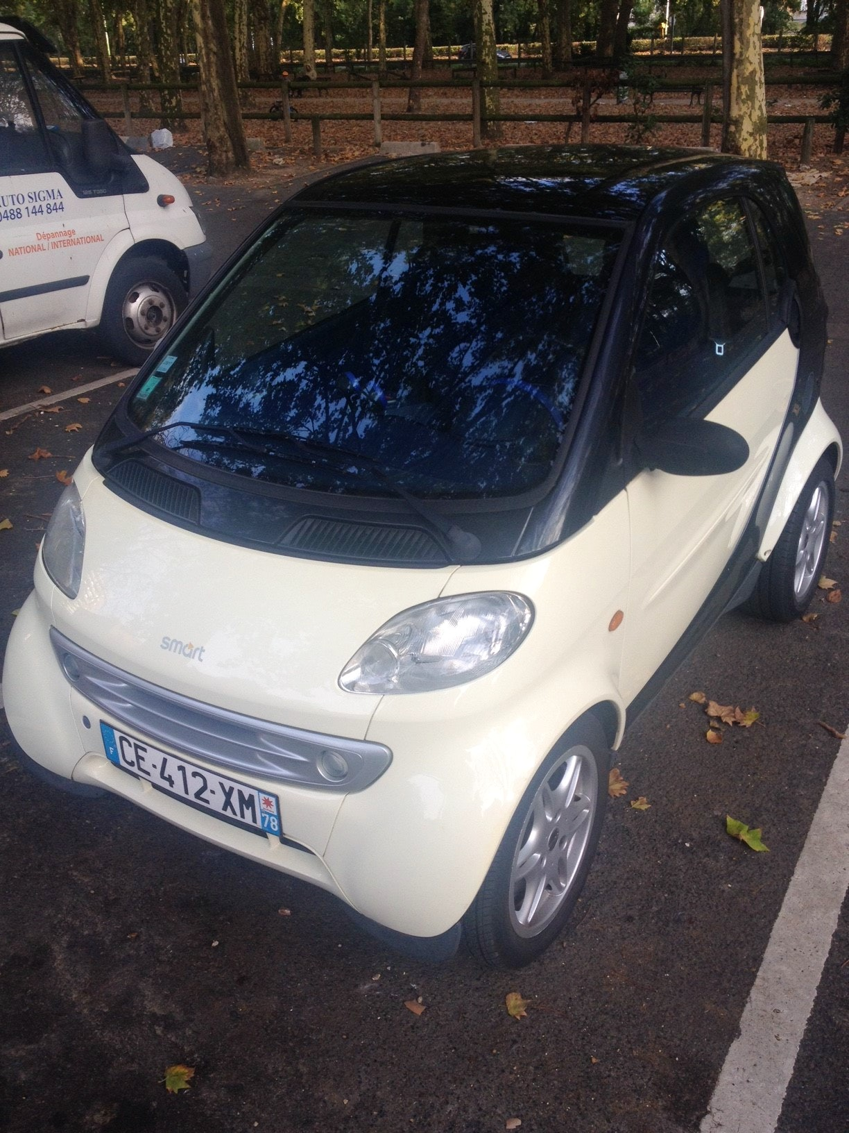 Smart Fortwo, 1999, Essence, automatique