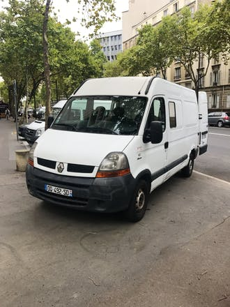 location utilitaire renault master 2009 diesel 6 places boulogne billancourt 24 route de la. Black Bedroom Furniture Sets. Home Design Ideas