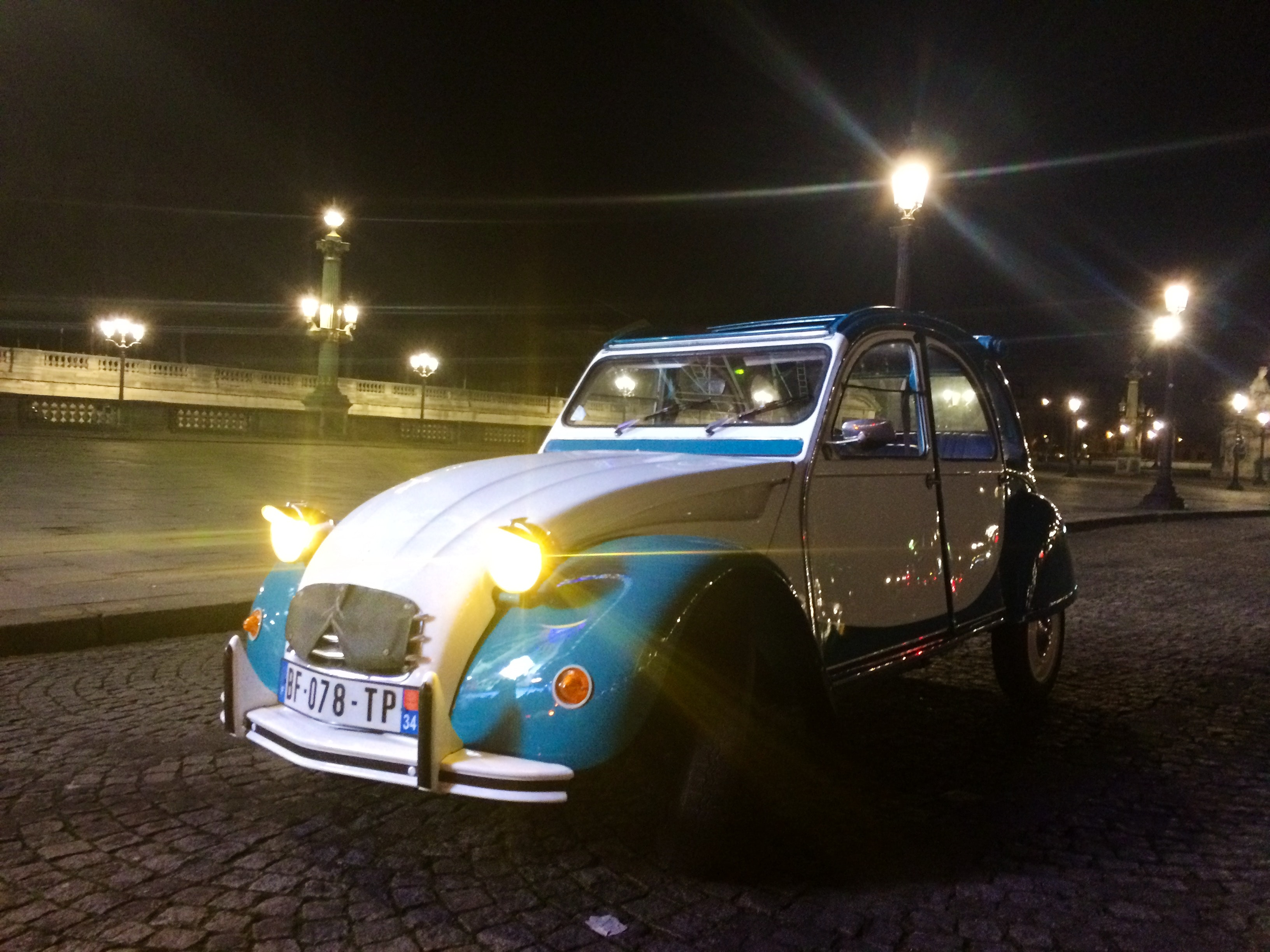 location citroen 2cv 1972  u00e0 paris