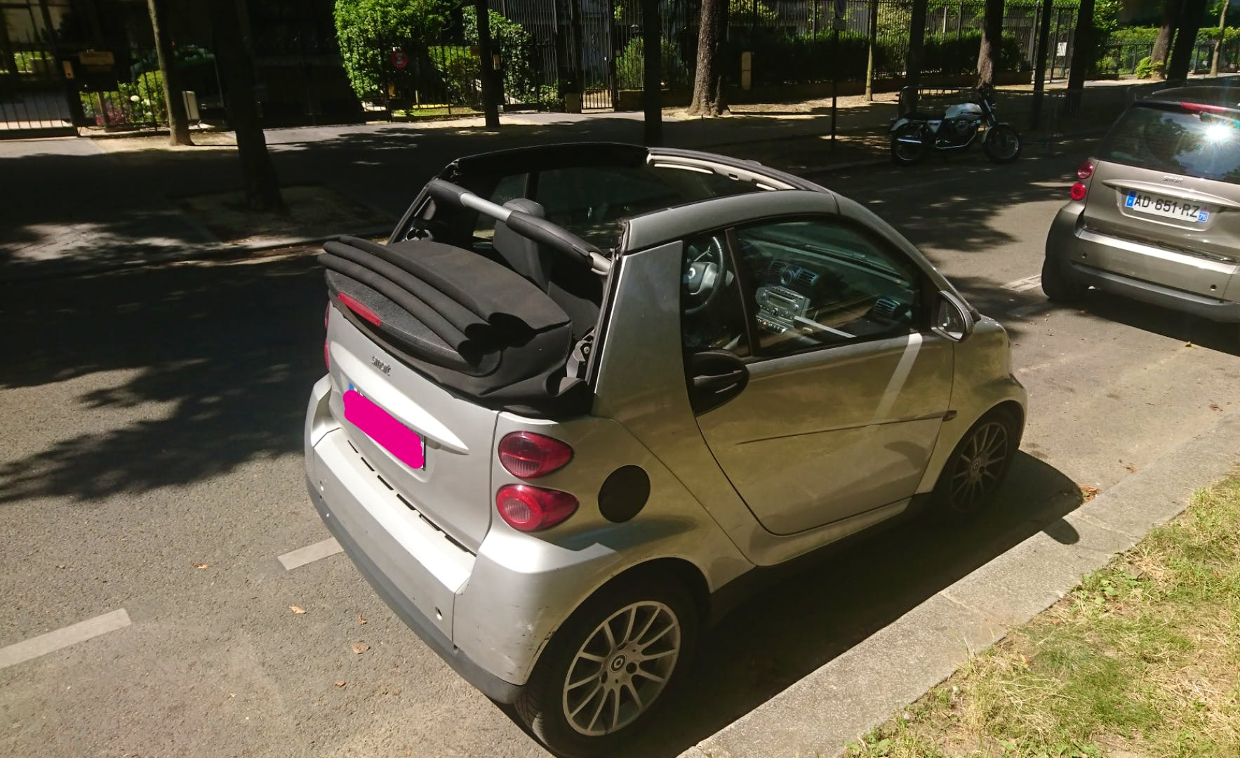 Smart Fortwo Cabriolet 71ch Passion (clim, Jack,...) PARIS 13 - SAINT JACQUES #aq avec Lecteur CD