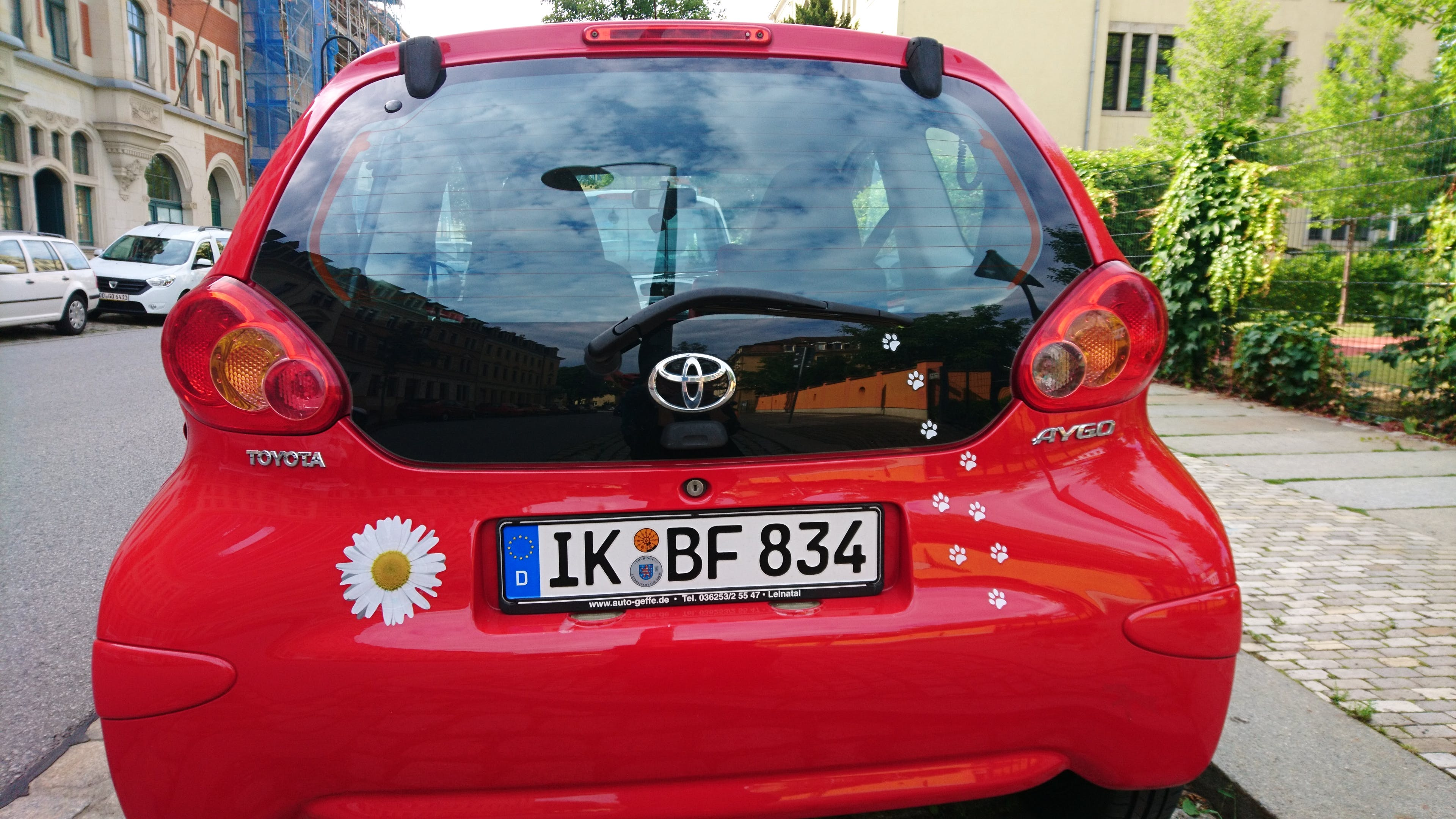 Toyota Aygo mit CD-Player