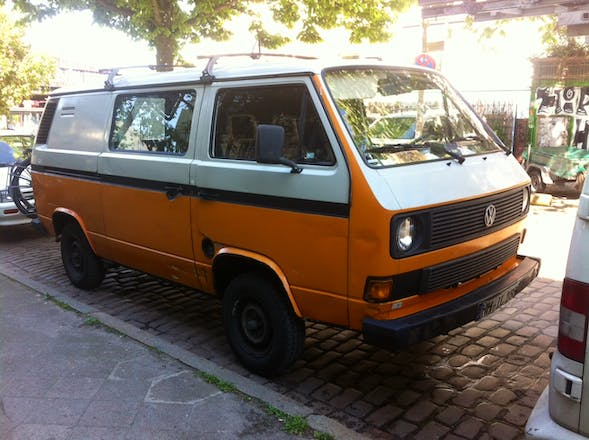 transporter volkswagen transporter 1988 diesel in hamburg wohlers allee mieten. Black Bedroom Furniture Sets. Home Design Ideas