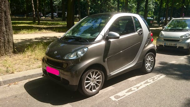 Smart Fortwo Coupé Passion Softouch (Clim, Cuir, Boite Auto,...) #ah, 2008, Essence, automatique