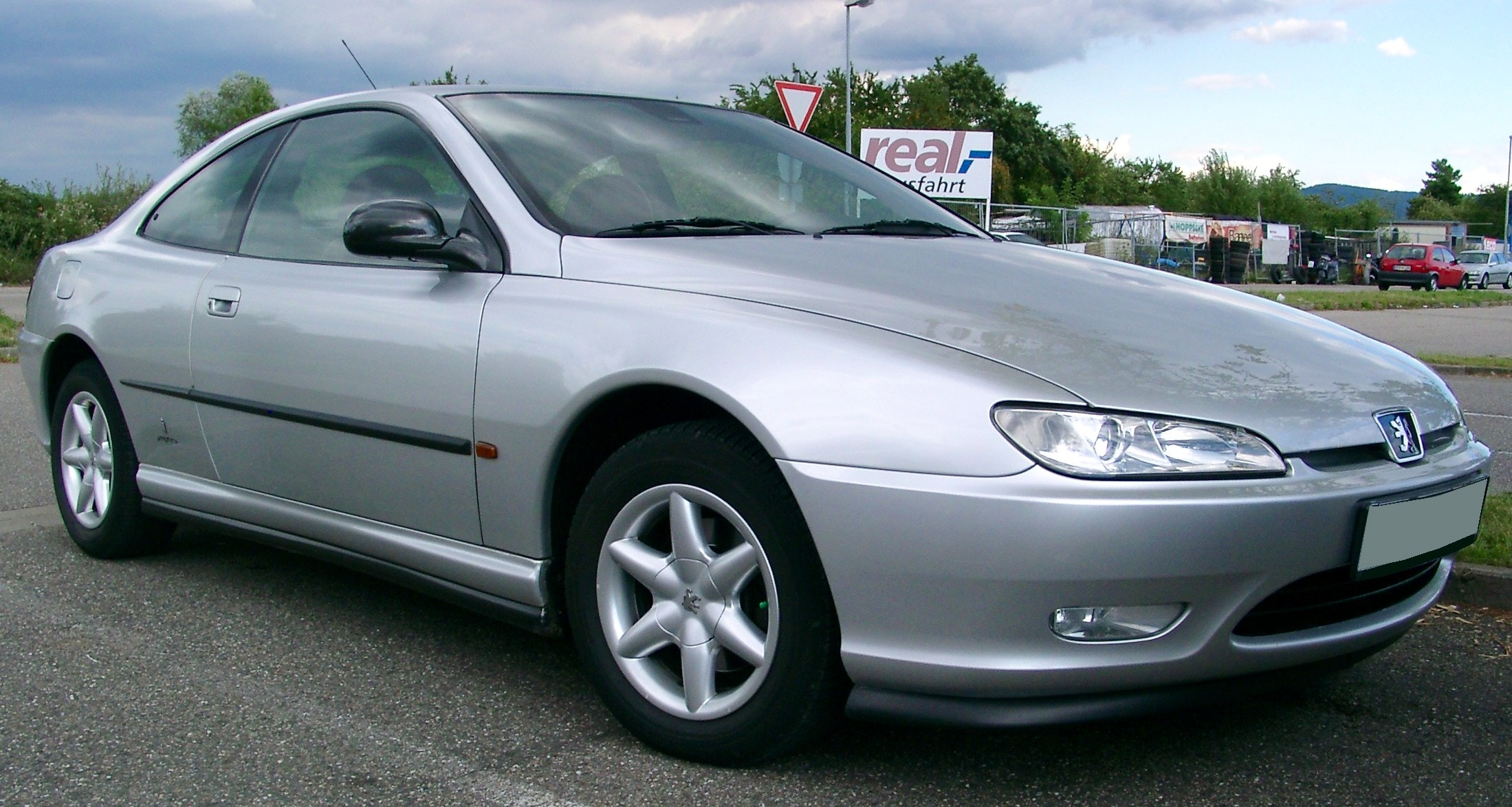 Peugeot  406 coupe, 2000, Essence, automatique