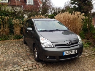 Toyota corolla verso, 2005, Diesel, 7 places