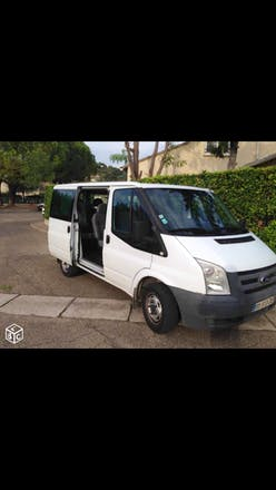 location minibus ford transit kombi 2009 diesel 9 places bully les mines 29 rue gambetta. Black Bedroom Furniture Sets. Home Design Ideas