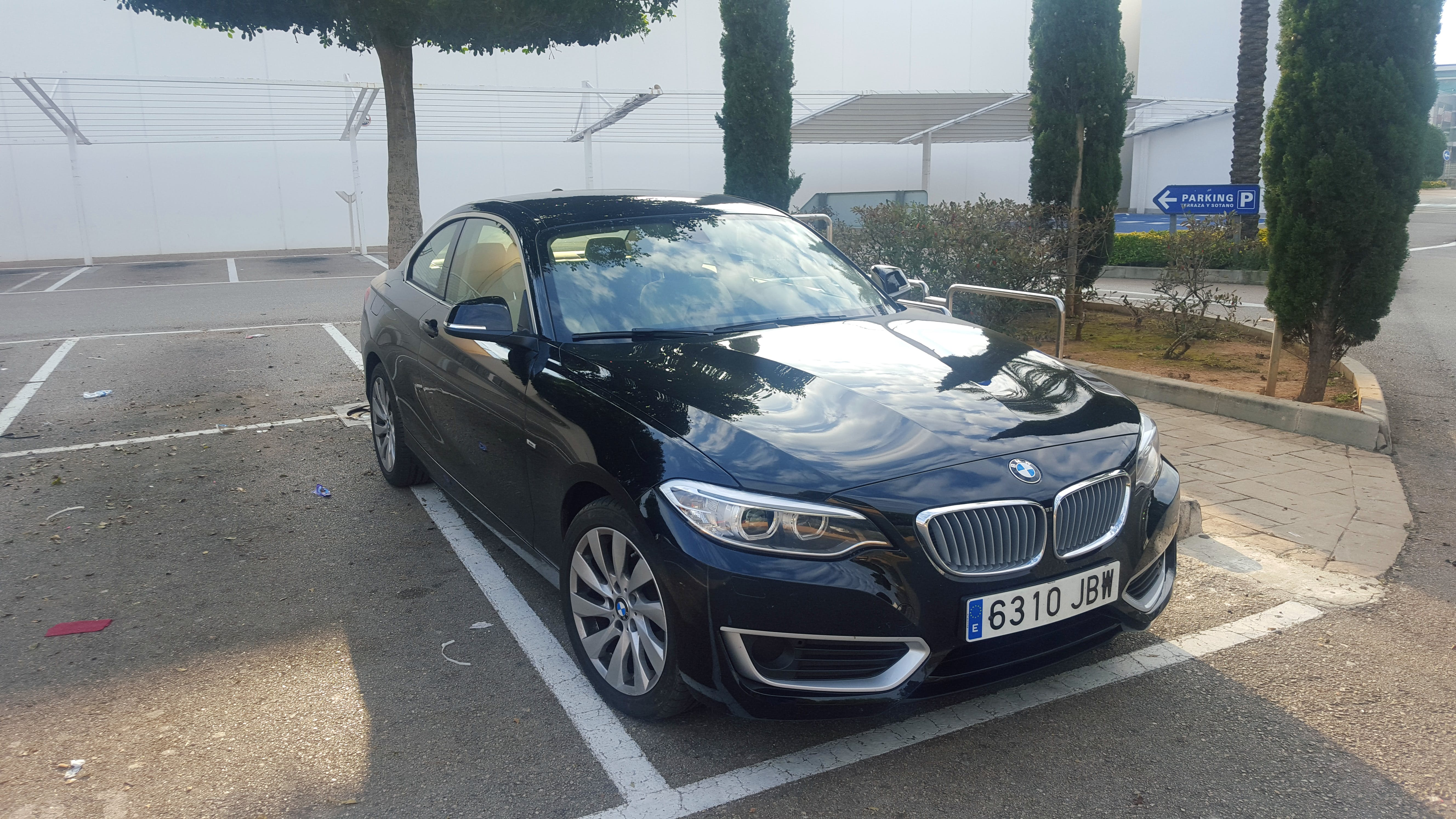 BMW 218d coupe con GPS
