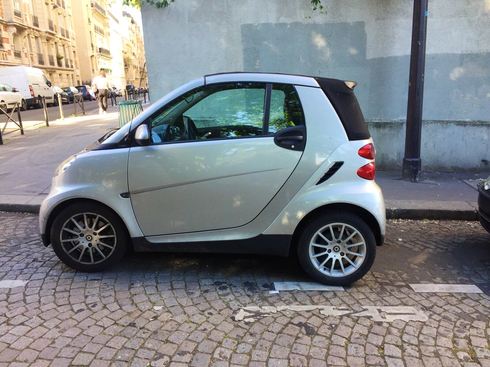 Smart Fortwo Cabriolet 71ch Passion (clim, Jack,...) PARIS 13 - SAINT JACQUES #aq avec Entrée audio / iPod