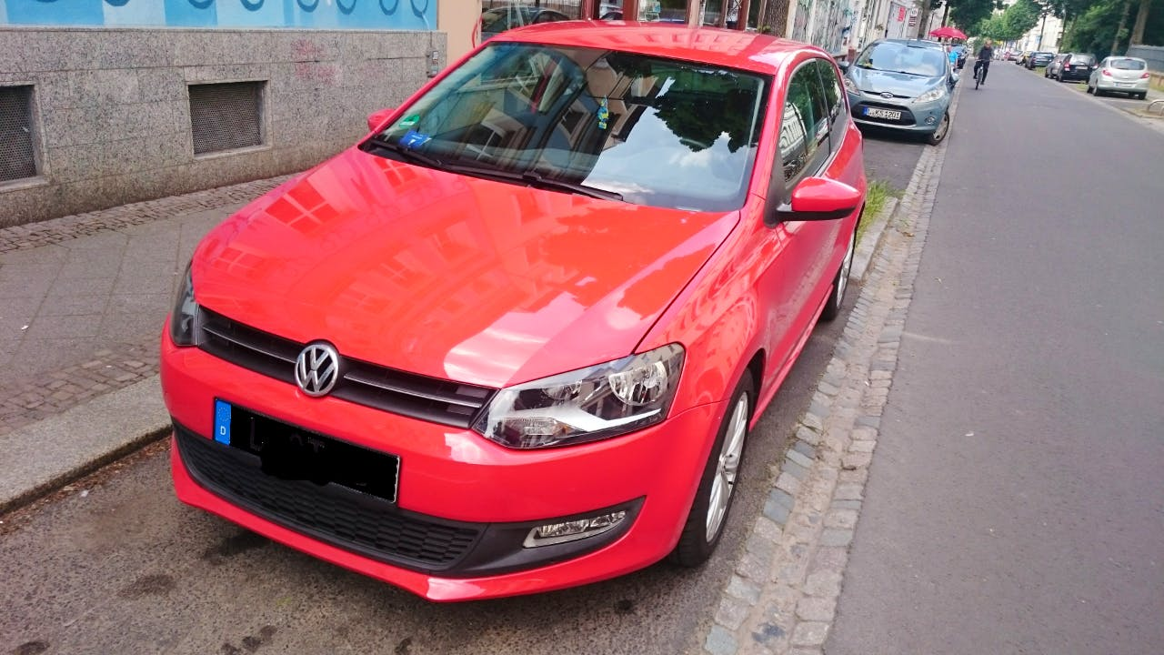 VW Polo V 1.4 Comfortline (85PS), 2010, Benzin