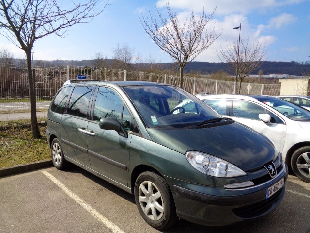 Peugeot 807 2.2 HDI 170 Navtech, 2007, Diesel, 6 places