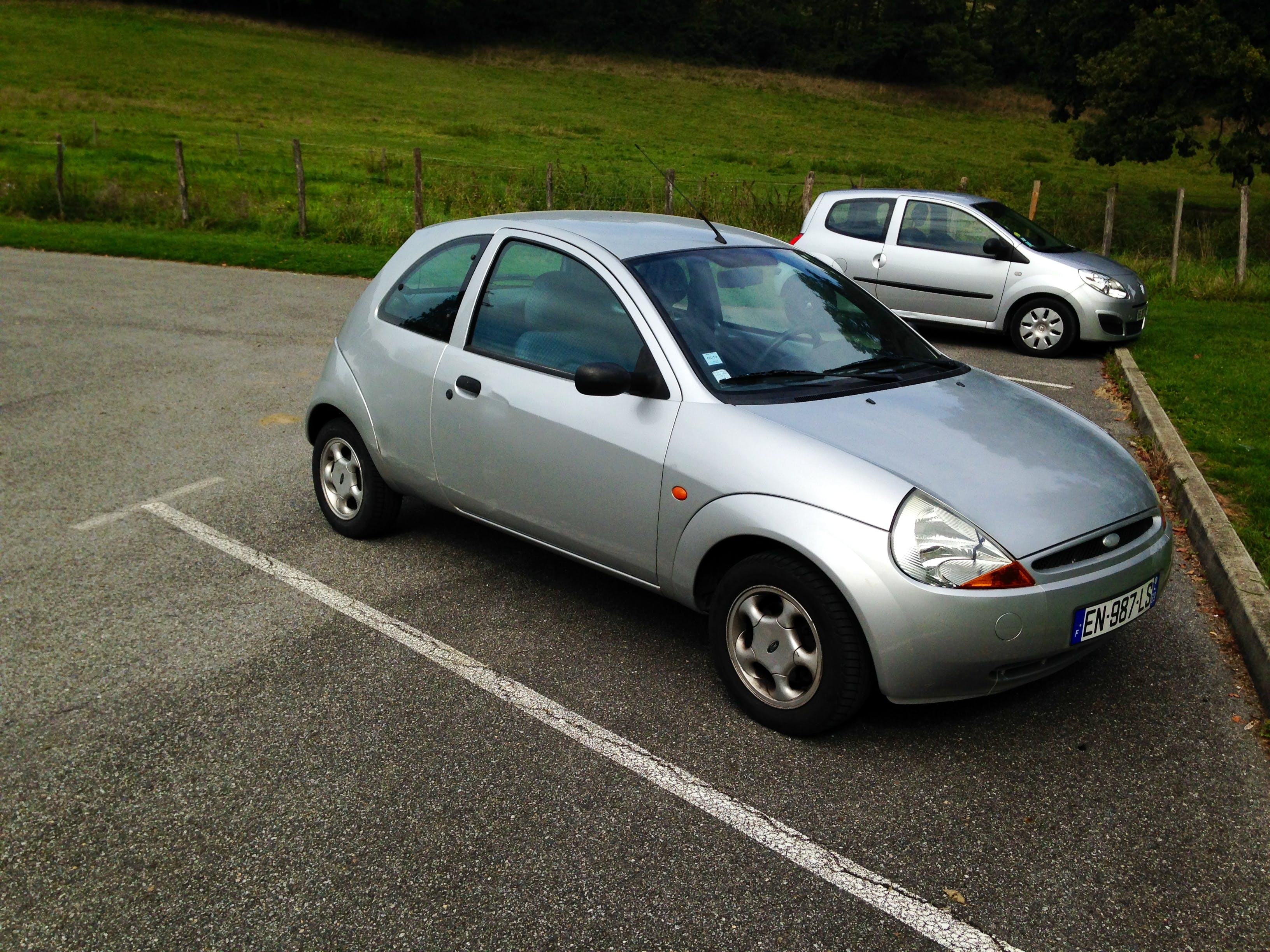 Ford Ka avec Chaines