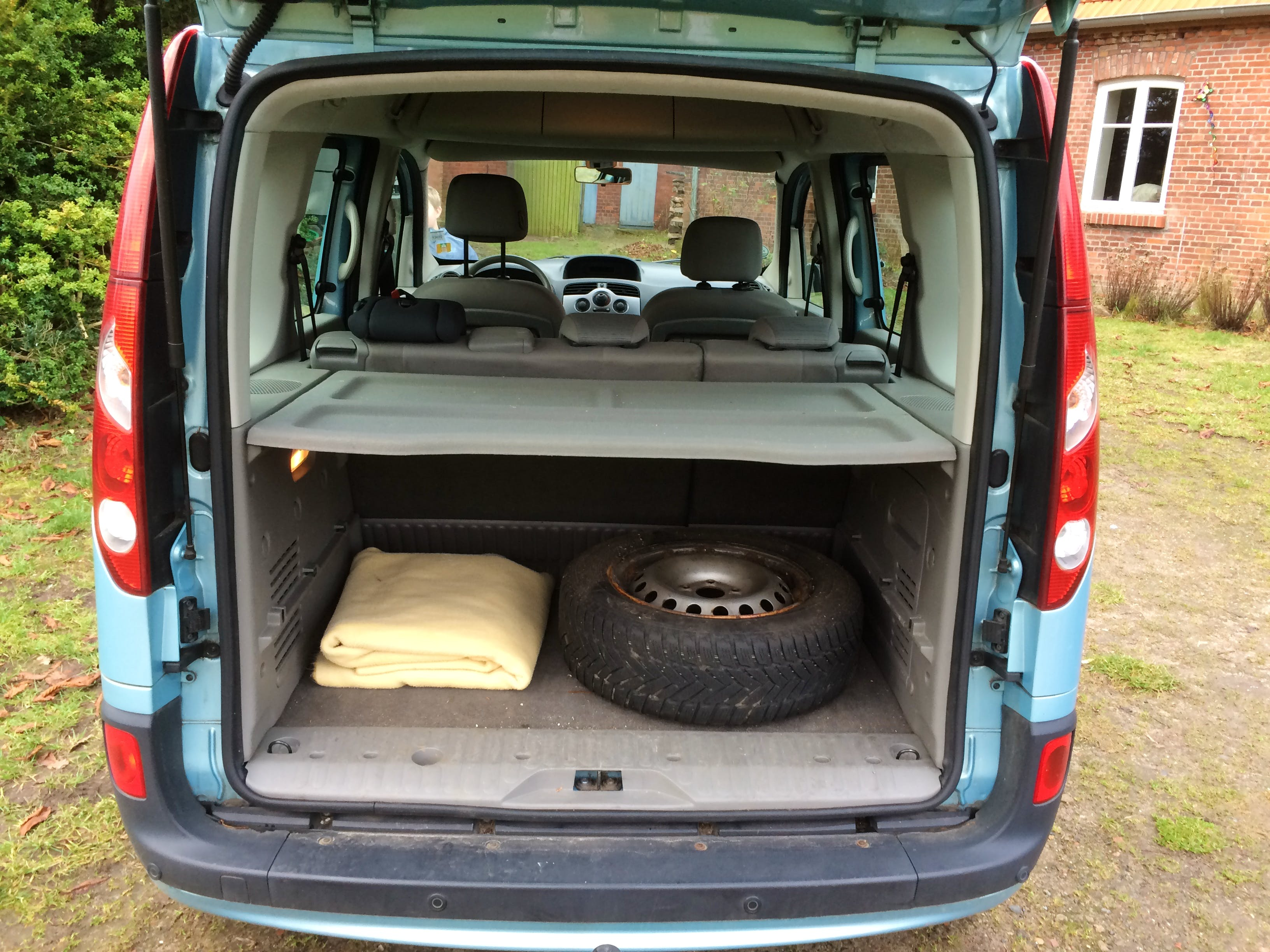 Renault Kangoo mit CD-Player