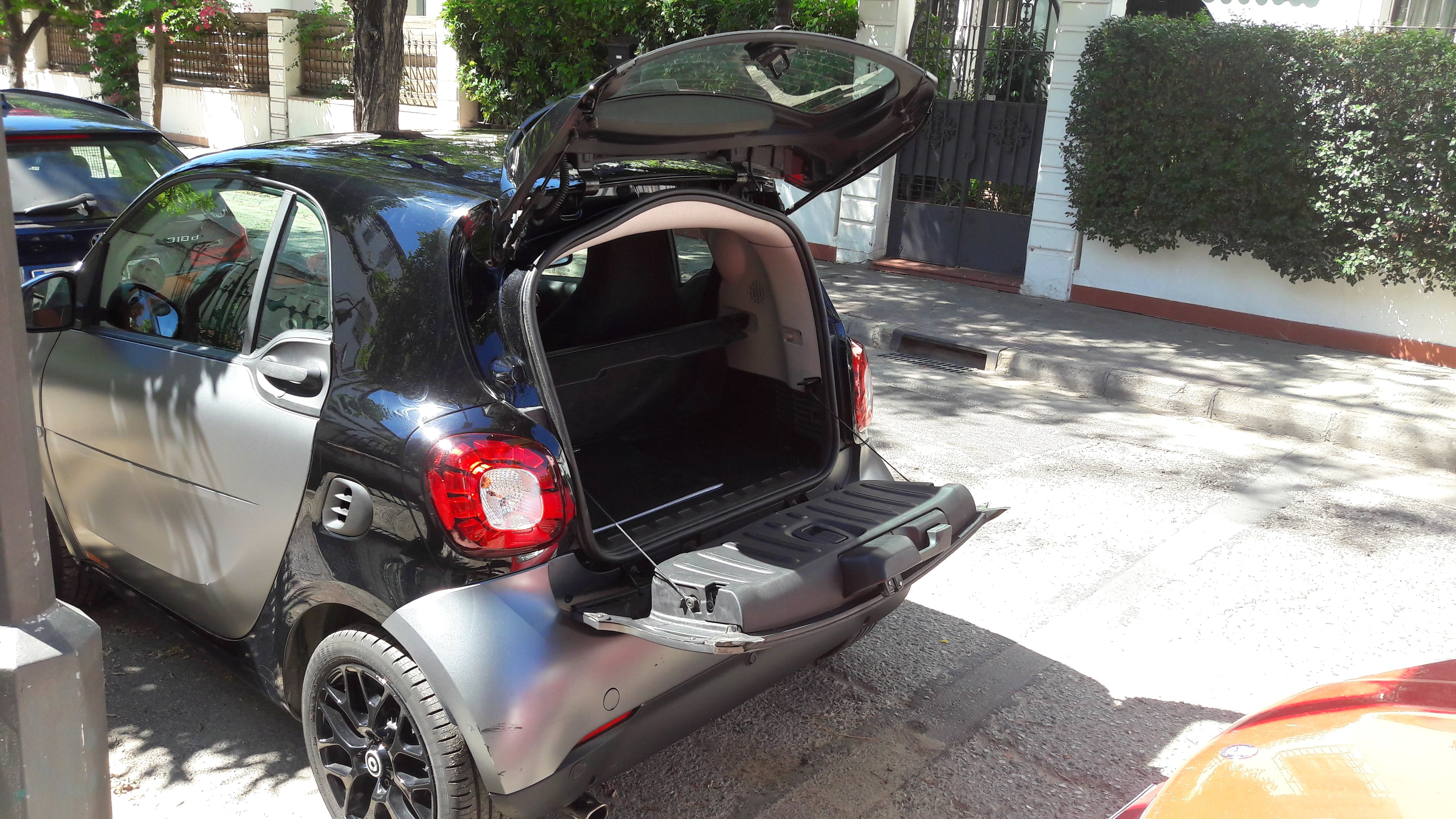 Smart Fortwo coupe con GPS