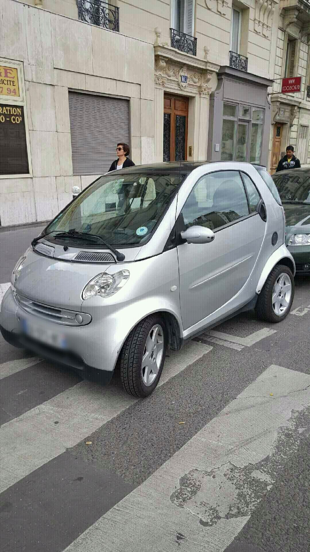 Smart Smart Fortwo, 2002, Essence, automatique