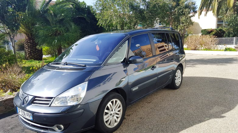 location renault grand espace 2007 diesel automatique 7 places calvi route de santore. Black Bedroom Furniture Sets. Home Design Ideas