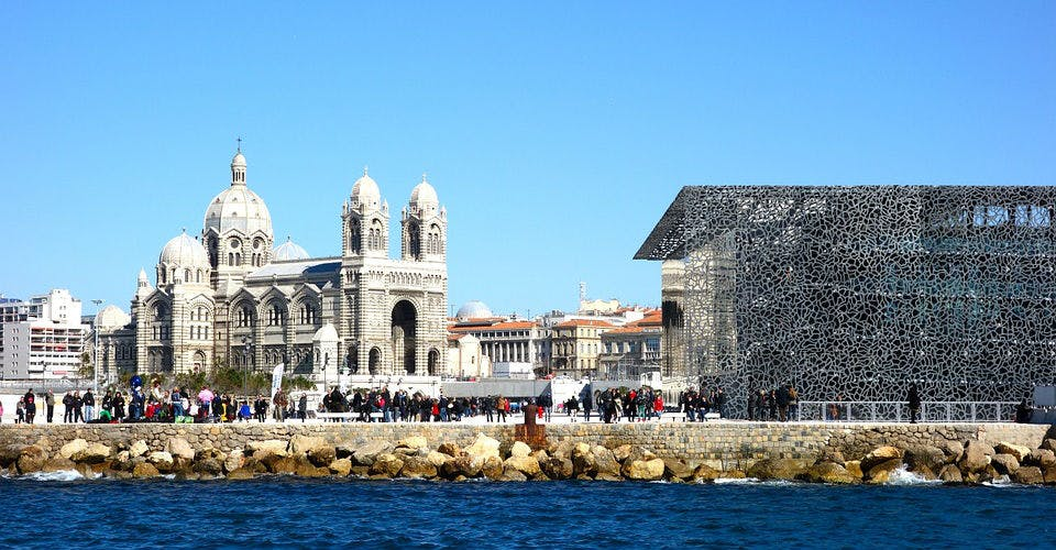 Le MuCem et la Major, Marseille