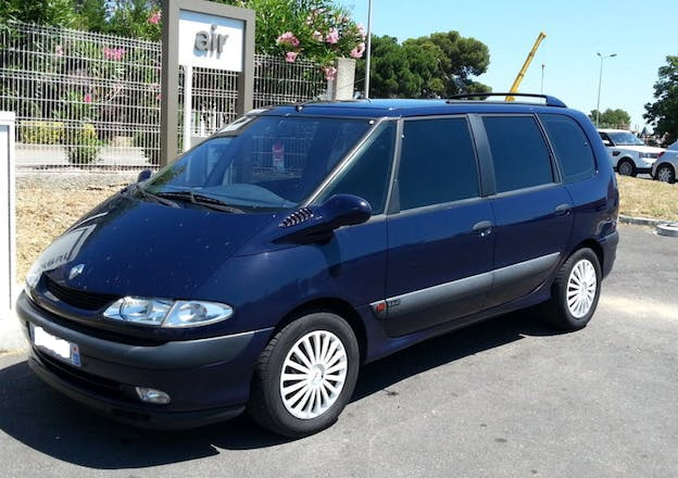location renault espace 2001 diesel 6 places palaiseau 7 r sidence gallieni. Black Bedroom Furniture Sets. Home Design Ideas