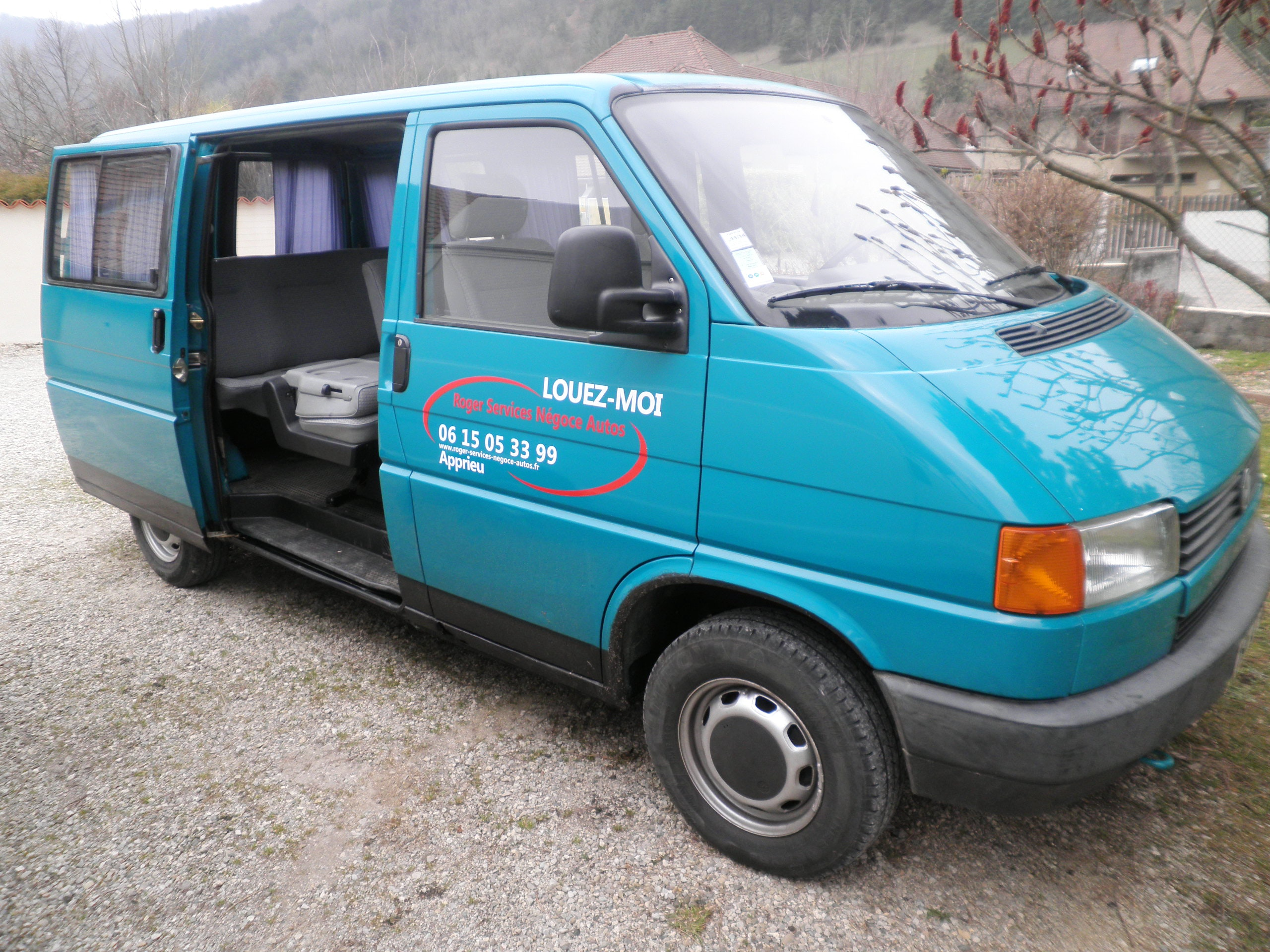 Volkswagen transporteur t 4 diésel 8 places, 1992, Diesel, 8 places