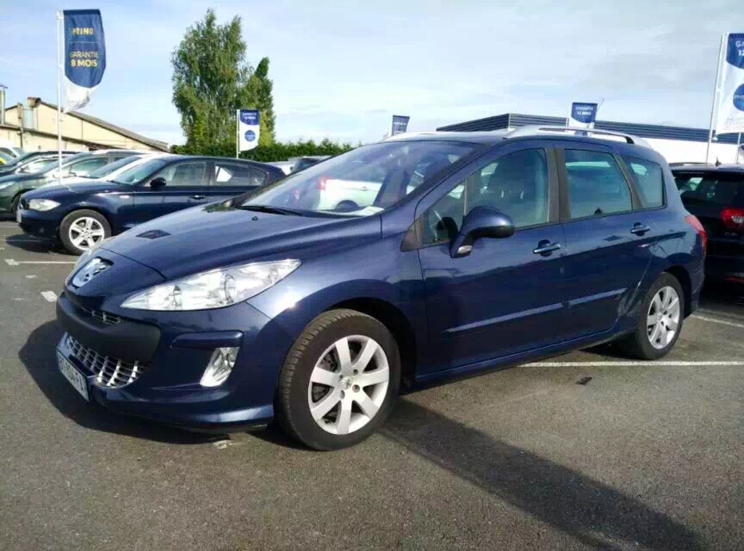 Peugeot 308sw 1.6HDI 110ch, 2008, Diesel, 7 places
