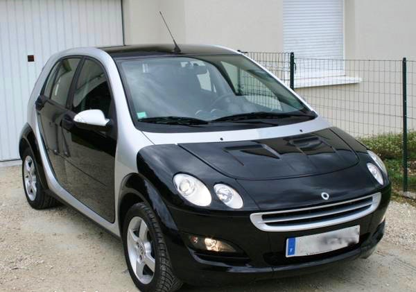 Smart Forfour, 2002, Essence, automatique