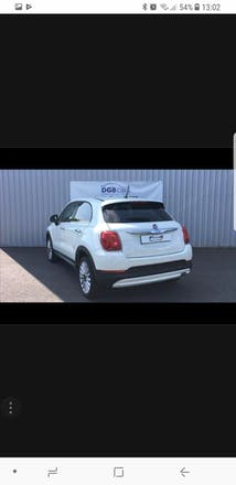 location fiat 500 x 2015 diesel arlon avenue de longwy. Black Bedroom Furniture Sets. Home Design Ideas