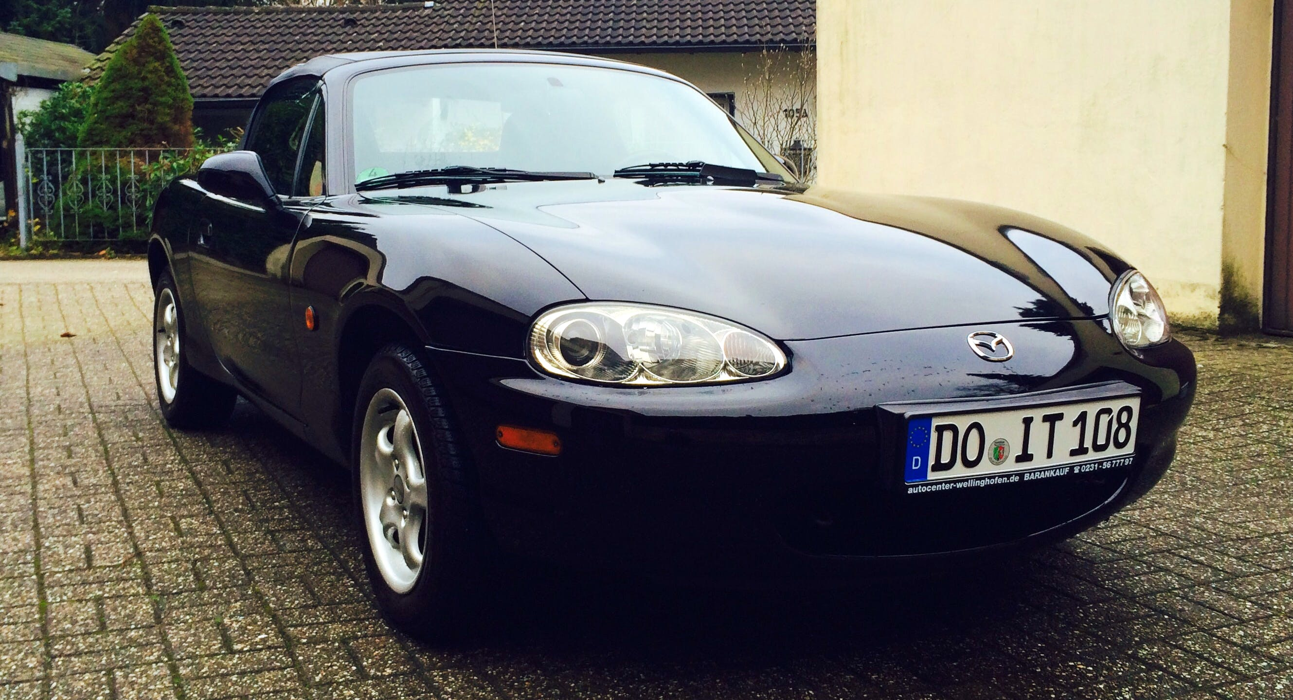 Mazda MX 5 NBFL mit CD-Player