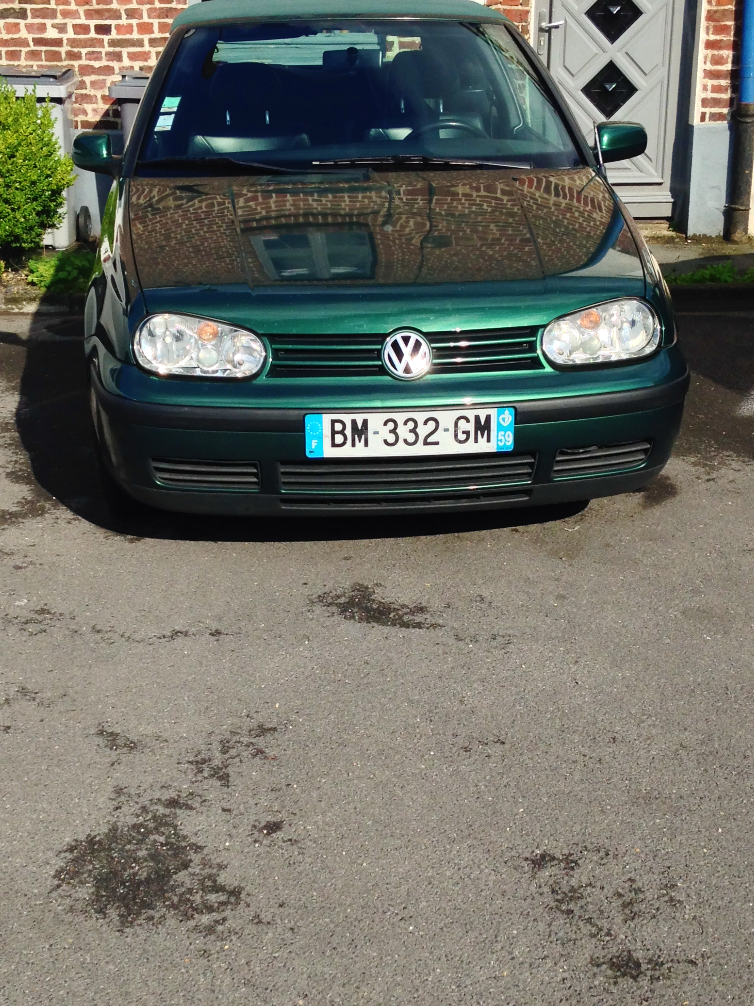 volkswagen golf cabriolet, 1998, Essence