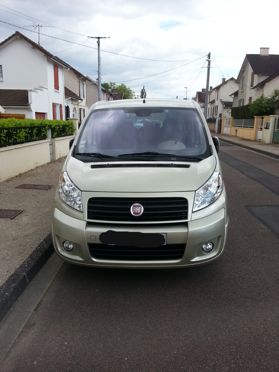 fiat scudo panorama 120 8 places, 2010, Diesel, 8 places