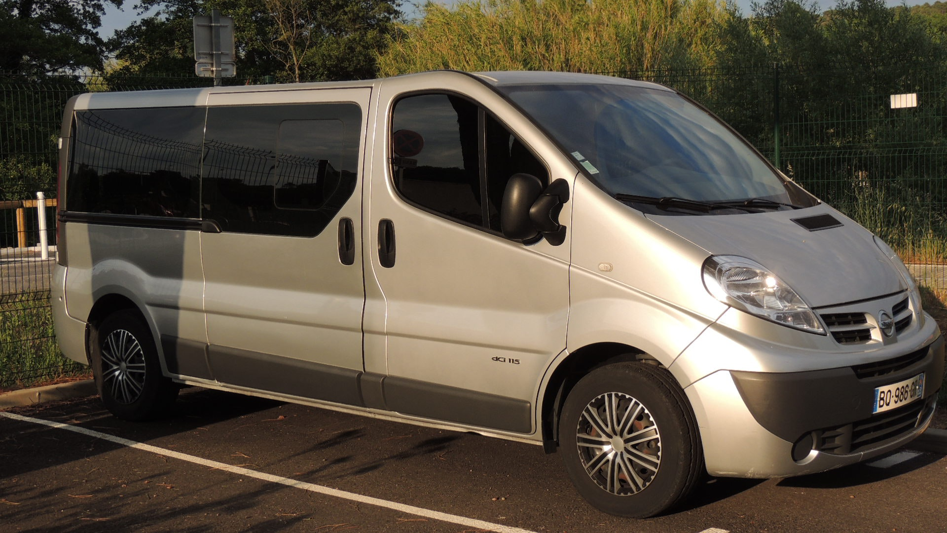 Nissan Primastar Minibus 9 Places DCI 115 cv chassis long, 2011, Diesel, 9 places et plus